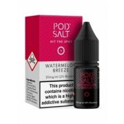 Lichid Tigara Electronica Premium Pod Salt Watermelon Breeze, 10ml, cu Nicotina, 50VG / 50PG, Fabricat in UK, Calitate Premium