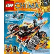 Lego Chima Tormaks Shadow Blazer-constructing and Convertible Toys for Boys Ages 7 to 14 Y.o.-includes 3 Mini Figures with Assorted Weapons and an Accessory-imported.