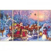 De Kerstman is Onderweg