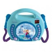 Lexibook FrozenLeitor CD Portátil com 2 Micrófonos