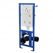 Структура за вграждане за тоалетна в стената 101 x 41 x 14,5 см