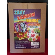 ZANY RAINBOW BANDZ 6600 Loom Band Kit *THE ONLY KIT WITH 22 DIFFERENT COLORS & Glow in the Dark Bands ** 6600 bands, 22 colors, 11 inch loom, 3 Pick Tools,250 connector clips. THE PERFECT SET! 100% NO QUESTIONS ASKED MONEY BACK GUARANTEE - Our goal is for