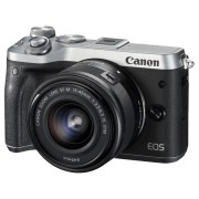 CANON Hybride camera EOS M6 + 15-45 mm (1725C012AA)