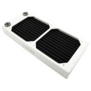 XSPC Dual Fan Radiator AX240 - 240mm Bianco