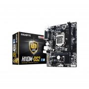 T. Madre Gigabyte GA-H110M-DS2, ChipSet Intel H110, Soporta, Intel Core i7/Core i5/Core i3/Pentium/Celeron de Socket 1151, Memoria, DDR4 2133 MHz, 32GB Max, SATA 3.0, USB 3.0, Integrado, Audio HD, Red Gigabit, Micro-ATX.