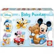 Бебешки пъзел Mickey Mouse Educa, 8412668138131