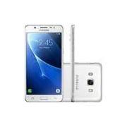 Smartphone Samsung Galaxy J5 Metal Dual Chip Android 6.0 Tela 5.2 16GB 4G Câmera 13MP - Branco