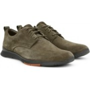 Clarks Tynamo Walk Mushroom Sde Casuals For Men(Olive)