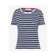 Brax T-Shirt Camille, Rundhals blau