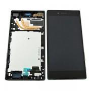 Estrutura para a Parte Frontal e Ecrã LCD para Sony Xperia Z5 Premium - Preto