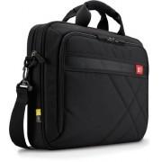"""Geanta laptop 17"""" Case Logic, buzunar interior 10.1"""", buzunar frontal, poliester, black """"DLC117"""""""