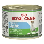 Hrana umeda pentru caini, ROYAL CANIN CHN Mini Adult Light Dog Can, 195 g