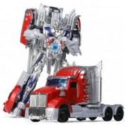 Robot Transformer tir albastru rosu
