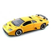 Motor Max Lamborghini Diablo GT, Yellow - Motormax 73168 1/18 Scale Diecast Model Toy Car
