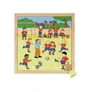 Rampussel fotboll 40x40cm