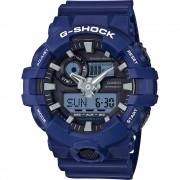 Casio G-SHOCK Standard Analog-Digital Montre GA-700-2A - Bleu