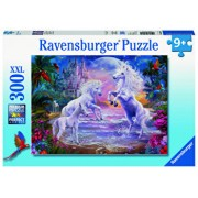Puzzle Unicorni in paradis, 300 piese
