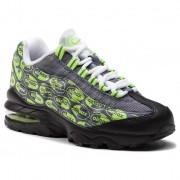 Pantofi NIKE - Air Max 95 Se (GS) 922173 004 Black/Volt/Ash/White