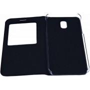 Zwart Window vieuw Cover Kunst LederHoesje Samsung Galaxy J5 ( 2017 )