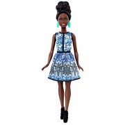 Barbie Fashionistas Brocade Doll, Blue