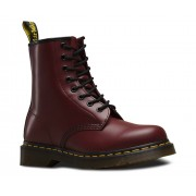 Dr. Martens Dr Martens 1460 Cherry Red Smooth Boots Size 10