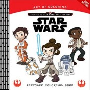 Art of Coloring Journey to Star Wars: The Last Jedi: Keepsake Coloring Book, Paperback/Katie Cook