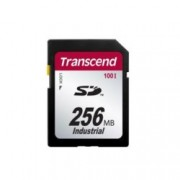 256MB SD SLC, Transcend Secure Digital, 100X, скорост на четене 17MB/s, скорост на запис 13MB/s