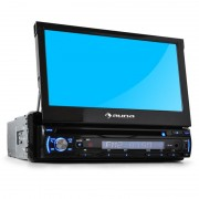 Auto-rádio Auna DTA90 18 cm Leitor DVD USB-SD