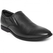 Hush Puppies Mens Black Formal Slip On Shoes