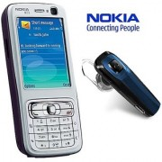 Nokia N73/ Good Condition/ Certified Pre Owned (6 months Warranty) with Bluetooth Headset