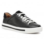 Sneakers CLARKS - Un Maui Tie 261538694 Black Leather