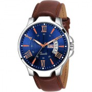 Lava Creation Analogue Blue Dial Day And Date Men's Watch ( 2031 )