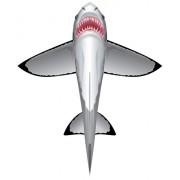 WindnSun SeaLife Great White Shark Nylon Kite-60 Inches Tall