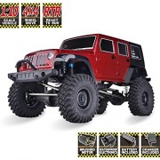 RC Crawlers RTR 1/10 Scale 4wd Off Road Monster Truck Rock Crawler 4x4 High Speed Waterproof Car