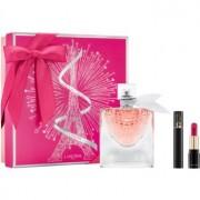 Lancôme La Vie Est Belle L'Éclat set cadou II. Eau de Parfum 50 ml + mascara 2 ml + mini L'Absolu Rouge Matte 378 Rose Lancôme 1,6 g
