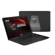 """ASUS GL502VS-FY247T i7-7700HQ(3.80GHz) 16GB 1TB+256GB SSD 15.6"""" FHD matný GTX1070/8GB Win10 čierna"""