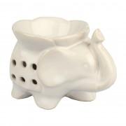 Lampă ceramică aromateroapie Elefant 14 cm