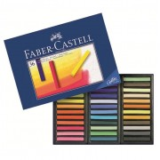 Creioane color Pastel Soft Mini 24 culori Faber-Castell
