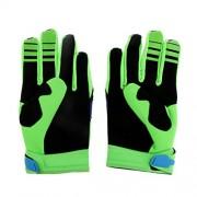 ELECTROPRIME Fox Racing Race Gloves - Motocross ATV Dirt Bike Gear Green L Size