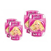 Set 4piese de protectie cotiere si genunchiere Stamp Barbie