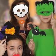 Fotoprops på Pinne Halloween