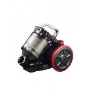 Aspirator fara sac Rohnson Cyclone R157,800 W, capacitate recipient de praf: 2 L, negru-rosu