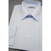 Pánská košile modrá s širokými proužky Avantgard 511-07-41/182