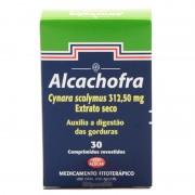 Alcachofra 312,50mg Com 30 Comprimidos Revestidos