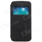 KALAIDENG Funda protectora de cuero PU Funda para Samsung Galaxy Win Pro G3812 - Negro