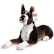 Bob the Boxer   Over 2 1/2 Foot Long Big Stuffed Animal Plush Dog   Shipping from California   By Tiger Tale Toys