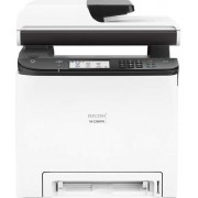RICOH Multifunction Printer - Color - Laser - A4/Legal (Media) - up to 25 ppm (Copying) - up to 25 ppm (Printing) - 250 Sheets - 33.6 Kbps - USB 2.0, LAN, NFC, Wi-Fi(ac)