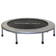 Capetan® Fit Fly Silver To Fold összecsukható 122cm trambulin, ezüsz szürke rugóvédő szivaccsal, 100