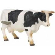 Figurina Papo Vaca alb cu negru