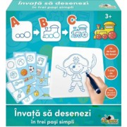 Joc educativ - Invata sa desenezi pentru baieti